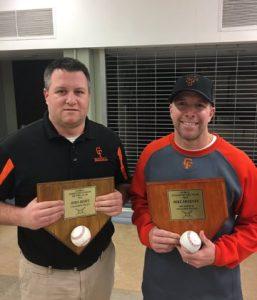 Baseball Coaches Awarded