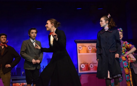 Mary Poppins premiers at Chagrin Falls High School