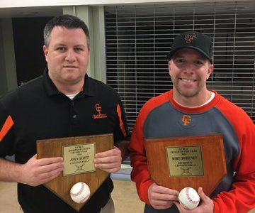 Baseball Coaches Awarded