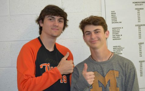 Humans of Chagrin- Dylan Scheetz and Samuel Dolan