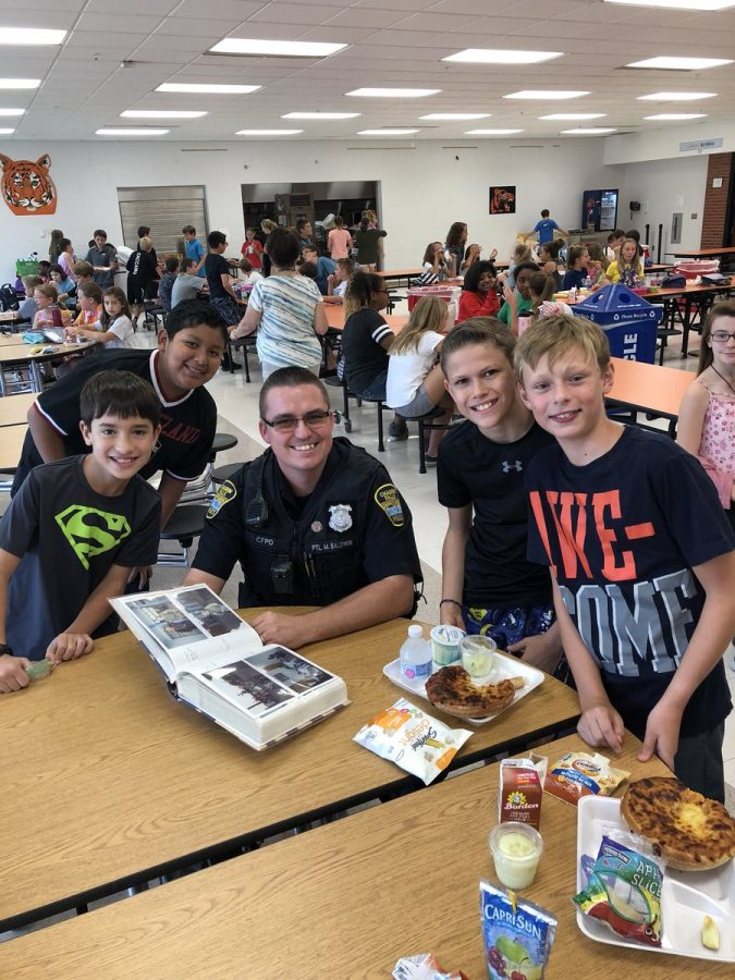 Summer Training Prepares Officer Baldwin for the School Year