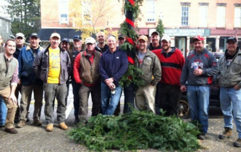 Christmas Decorations bring Christmas cheer to Chagrin.