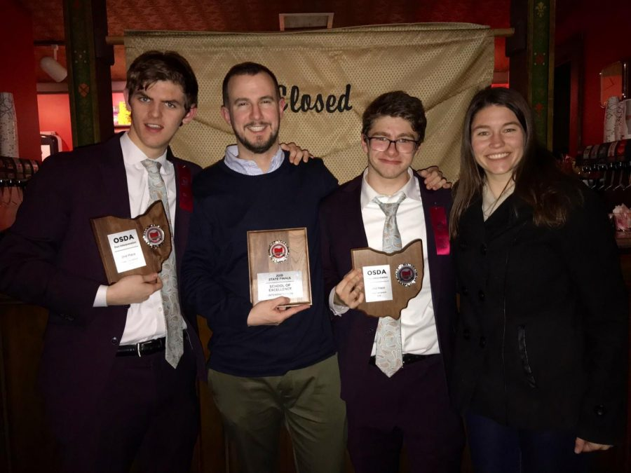 CFHS Produces State Quality Speech and Debaters