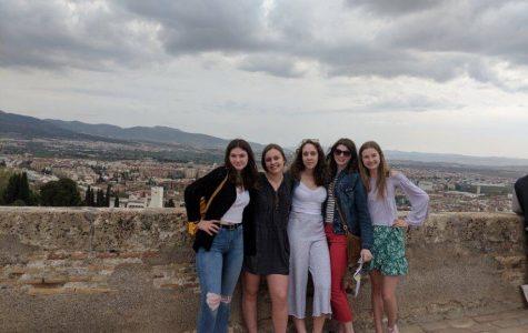 Students explore Spain over spring break