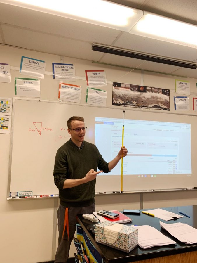 The Price Is Right for a New Physics Teacher at CFHS