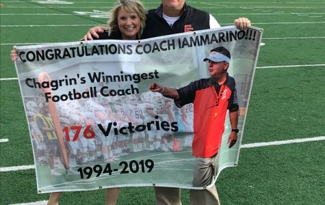 Coach Mark Iammarino becomes CFHS Winningest Coach
