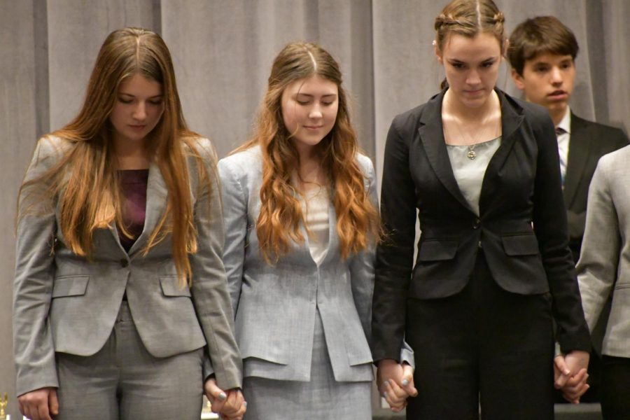 CFHS Holds its First Speech and Debate Tournament