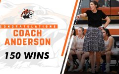 Coach Anderson earns 150 wins