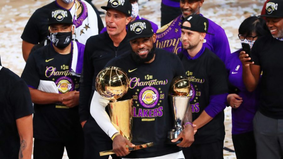 Lebron and Lakers Victorious in NBA Bubble Finals
