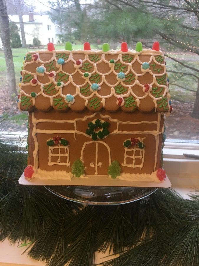 Gingerbread house by Luke Cornell